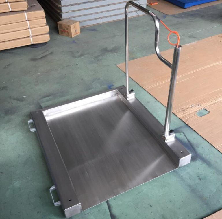 Stainless Wheel On Scales