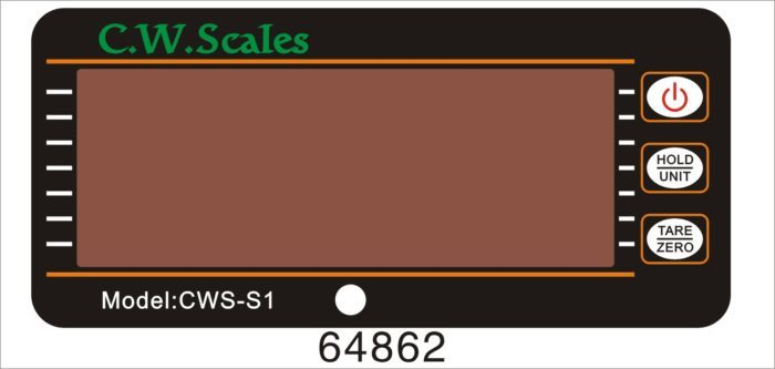 Digital Hanging Scales Front