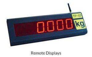 Remote Digital Weighing Displays